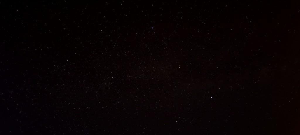 Die Milchstraße über Heppenheim, Canon EOS 6D, Sigma EX-DF Fisheye 15 mm, f/2.8, ISO 12800, 1 s