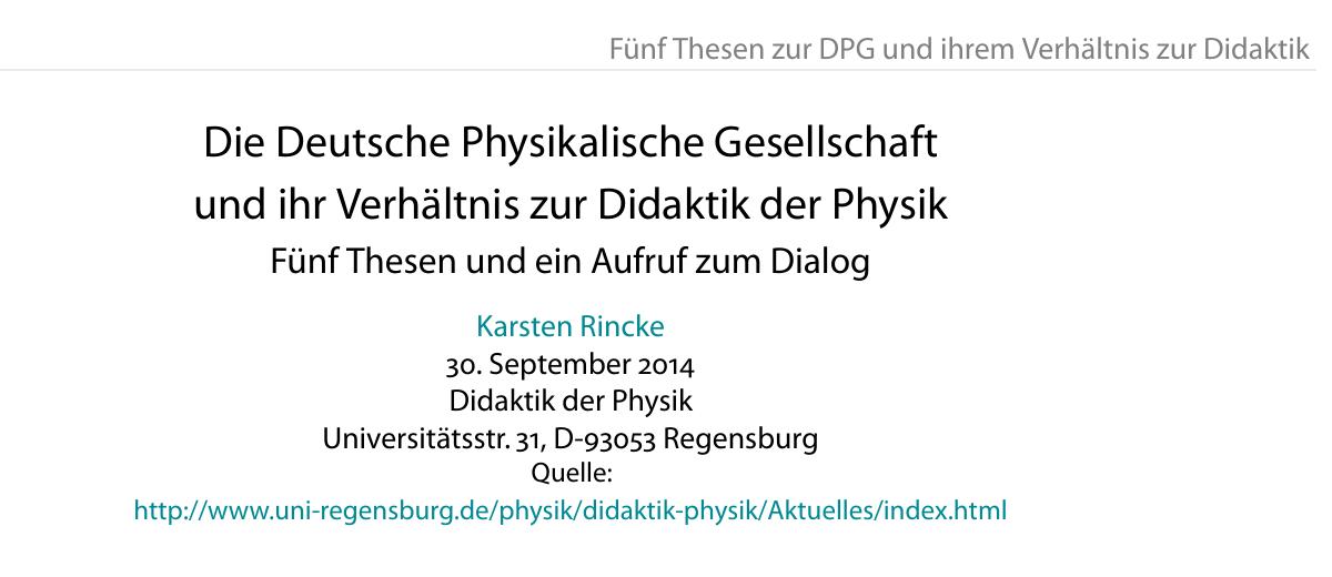 DPG-Kritik