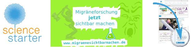Migräne auf Sciencestarter