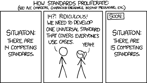 Standards; xkcd