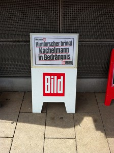 BILD-Plakat während des Kachelmann-Prozesses