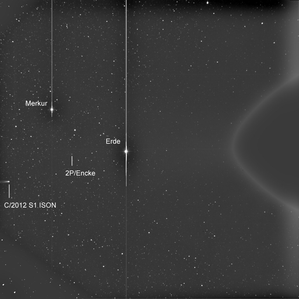 Einzelbild, bearbeitet und beschriftet von mir, Bildrechte: immer noch NASA