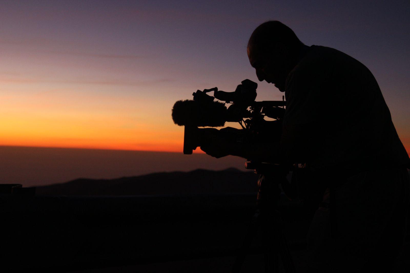 Filmaufnahmen des chilenischen Fernsehens
