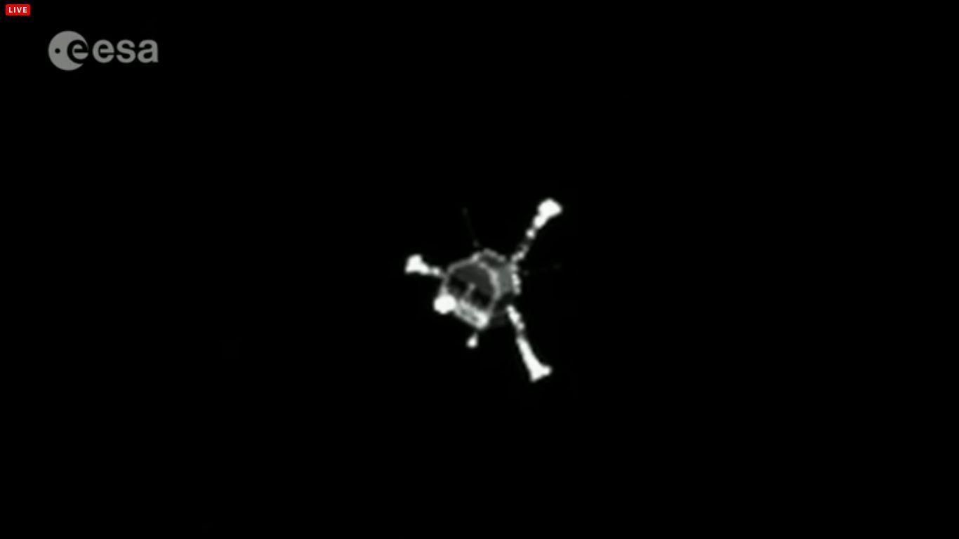 Farewell-Bild von OSIRIS