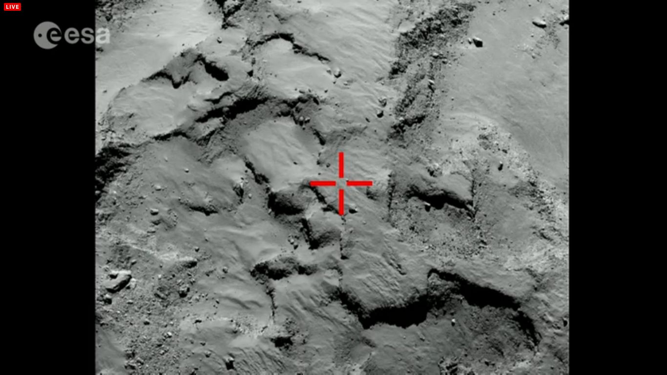 Erste Landestelle (OSIRIS)