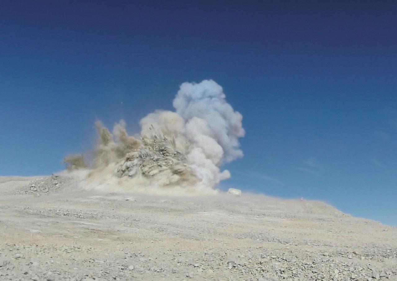 Closeup des EELT-Blast (Bild: ESO)