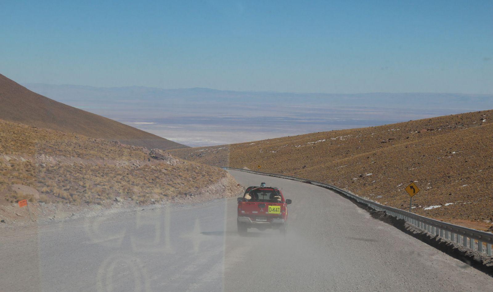 Auf dem Weg von der High Site zur OSF. Bild: Georg Görgen