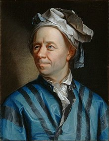Painting of Leonhard Euler