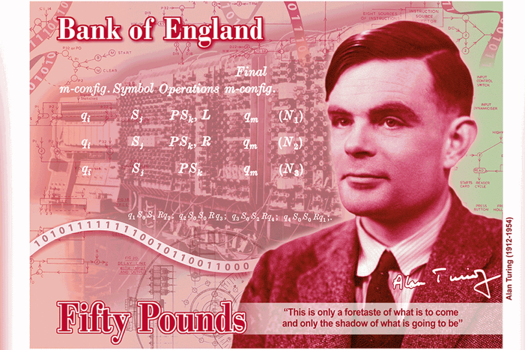 Concept Image of the new UK £50 note