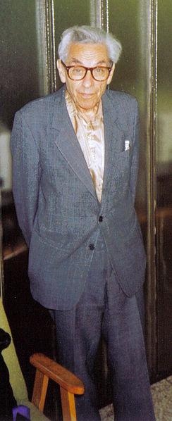 Paul erdös bei einem seminar in budapest im jahre 1992 bild kmhkmh