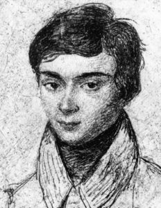 Évariste Galois (portrait sketch)