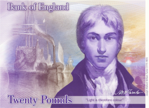 New £20 note - concept art; from the Bank of England website