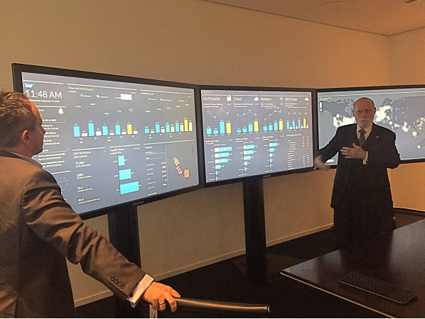 Vint Cerf commenting on the Digital Boardroom