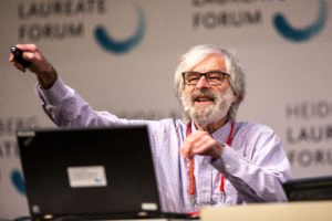 Leslie Lamport at the HLF 2017