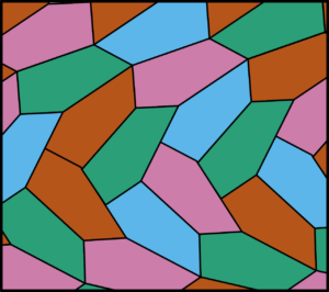 Tiling by irregular pentagons