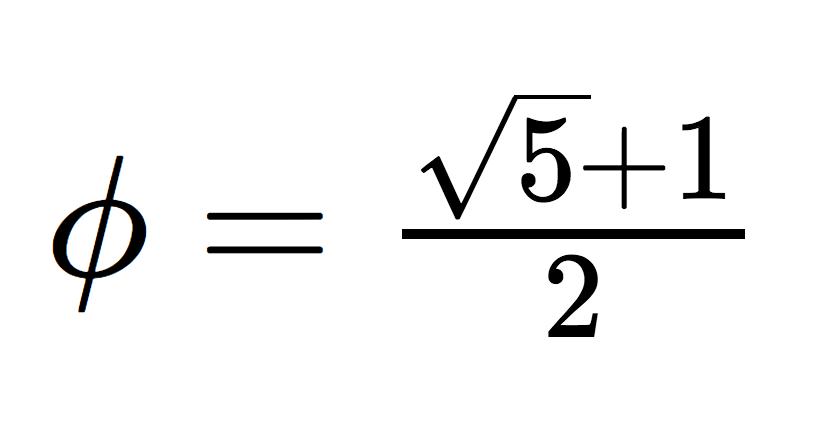 phi = (sqrt(5) +1)/2