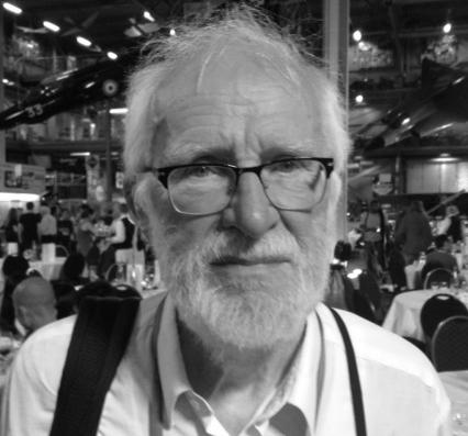 Peter Naur at the Heidelberg Laureate Forum 2015. Photo: Tobias Maier (CC BY-SA)