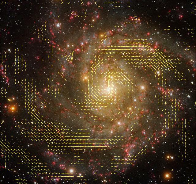 Galaktische Magnetfelder » HYPERRAUM.TV » SciLogs - Wissenschaftsblogs