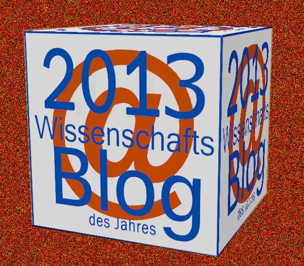 Logo_Wissenschaftsblog2013_3D_bronze