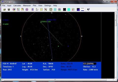 Cosmos 1220 + cosmos 1825 11.2.2012
