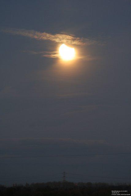 Mondfinsternis Langzeitbelichtung 1