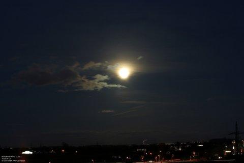 Mondfinsternis10.12.2011 landschaft