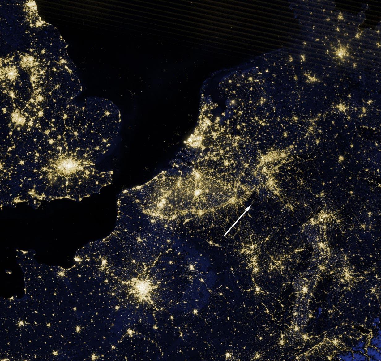 Das Neue Bild Der Erde Bei Nacht Himmelslichter Scilogs