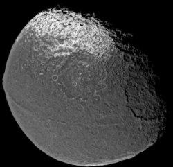 Saturnmond Japetus, Quelle: NASA/JPL