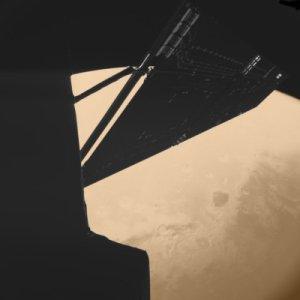 Rosetta/CIVA-Aufnahme der Region Mawrth, Copyright ESA