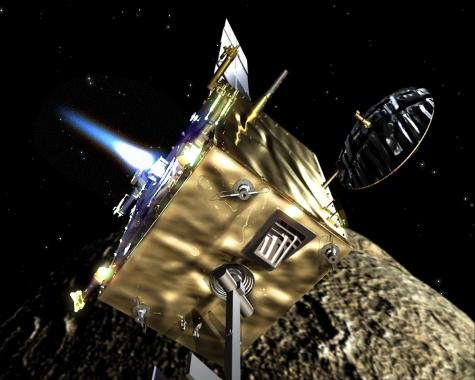 Orbiter trifft am Asteroiden ein, Quelle: ESA