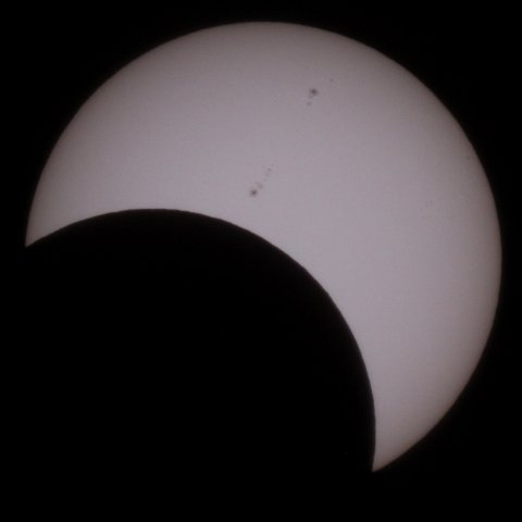 The Sun on May 21, 2012, 08:05 Japanese time, (c) Michael Khan, 2012