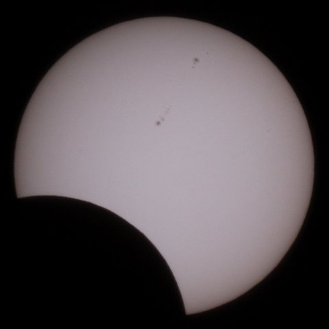 The Sun on May 21, 2012, 08:27 Japanese time, (c) Michael Khan, 2012