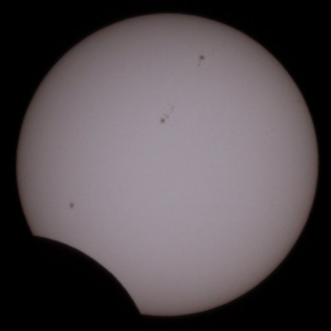 The Sun on May 21, 2012, 08:44 Japanese time, (c) Michael Khan, 2012