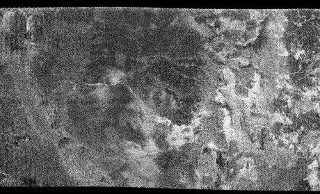 Extract of Titan Ta SAR swath image