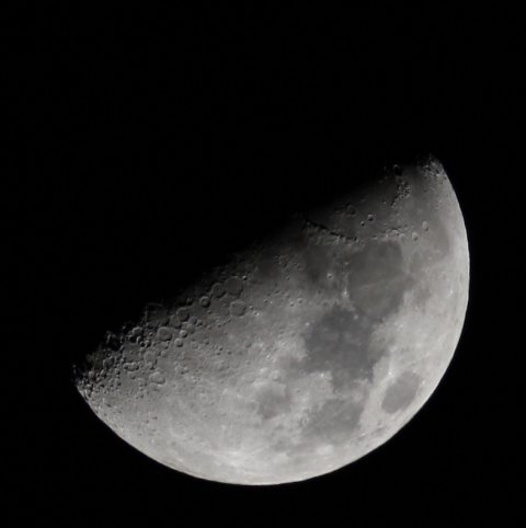 Half Moon, taken on Jan. 31, 2012, ca. 22:00 CET, source: Michael Khan
