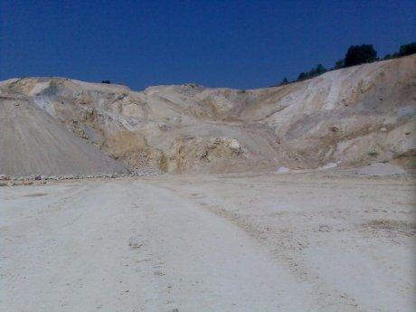 Suevit-Steinbruch der Maerker Zement GmbH; Otting, Quelle: Michael Khan