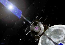 Ansicht der Mondsonde SMART-1, Quelle: ESA