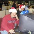 JPL-Cassini-Mannschaft zu Weihnachten, Quelle: NASA/JPL