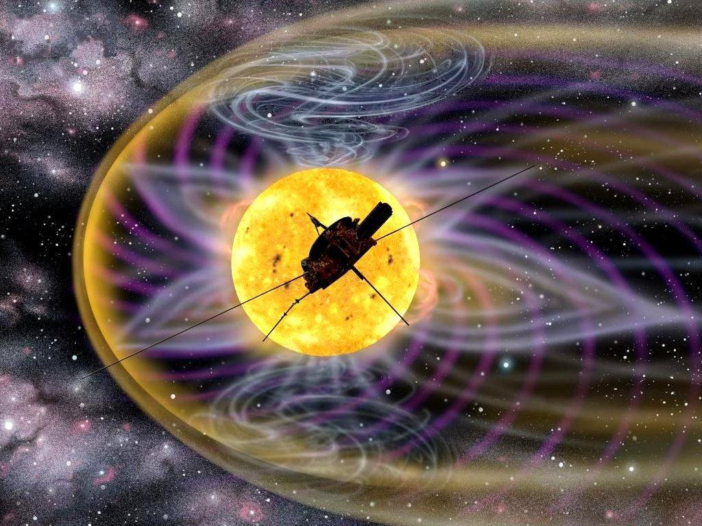 Magnetfeld Der Erde Wallpaper Ulysses im Solaren Magnetfeld