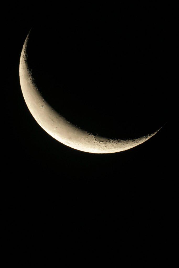Mond, Dortmund, 27.09.2016, 05:56 UTC+2, MC127/1500, Canon EOS1200D, ISO800, 1/20s