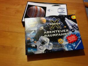 Experimentierkasten Abenteuer Raumfahrt