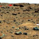 Gestein auf dem Mars, NASA