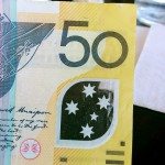 Ausschnitt aus einem australischen 50-Dollar-Schein