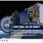Sentinel 1B. Bild: ESA/ESOC