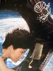 'Uma, la Chiocciola in Orbita', Illustrationsausschnitt