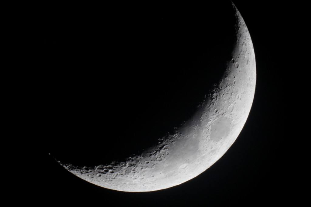 Mond, Dortmund, 12. Februar 2016, 18:34, MC 127/1500, Canon EOS 1200D, ISO 1600, 1/50s