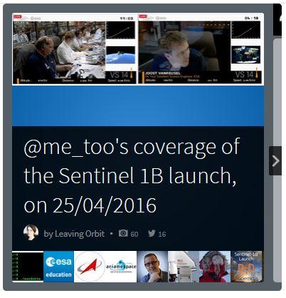 Storify Sentinel 1B