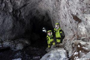 """""""The Train Tunnel"""". Teil eines etwa 2km-langen Höhlensystems."""