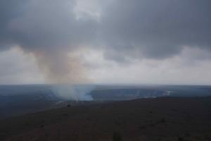 Kilauea Krater bei Tag...