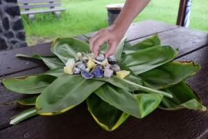Leckeres hawaiianisches Essen...